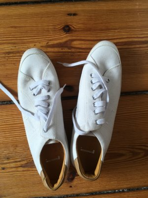 Schuhe, Sneaker, Turnschuhe, Leder, Weiß, Pirelli, 40