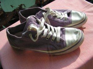 Schuhe/ Sneaker von Marc O'Polo, Größe 40, lila, weiß