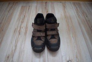 Bama Booties brown-black mixture fibre
