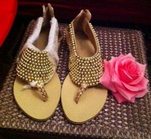 High-Heeled Sandals primrose