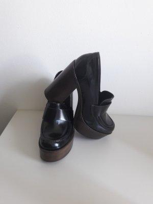 Sommerkind Chaussure à talons carrés noir