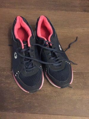 Schuhe Sportschuhe Laufschuhe dunkelblau pink wie neu