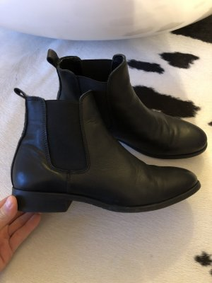 Schuhe Stiefel Stiefeletten Chelsea Boots 38 Mode Blogger lynn77