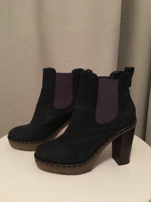 Tommy Hilfiger Slip-on laarzen donkerblauw