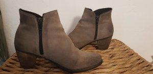 Schuhe ,Stiefelette in Wildleder 38