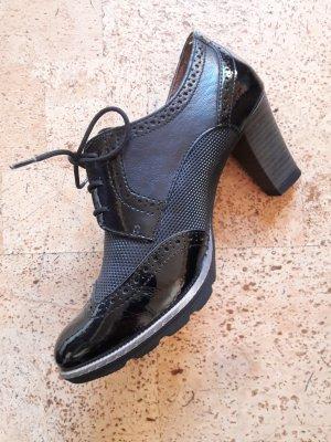 Schuhe Stiefeletten schwarz Tamaris Halbschuhe