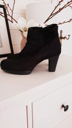 Schuhe Stiefletten Stiefel Schwarz Gabor 37