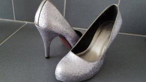 Schuhe tamaris gr. 36 silber