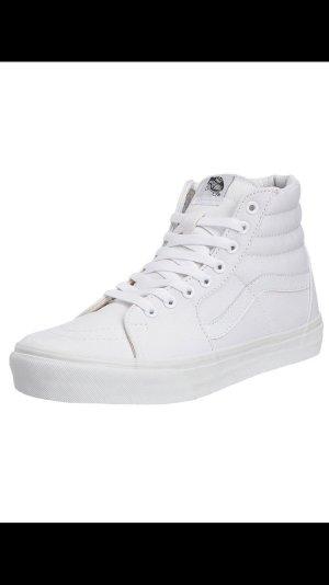 Schuhe: Vans Sk8- Hi Weiß