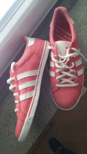 Schuhe von Adidas, rot / rosa, Gr. 9 1/2 (= 42)