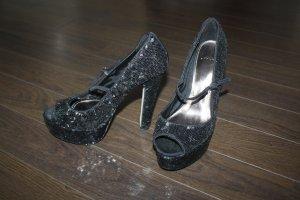 Schuhe von asos mit Pailletten in Gr. 38