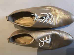 Bugatti Lace Shoes white-rose-gold-coloured