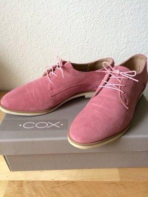 Schuhe von Cox in pink Leder