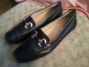 Schuhe von Geox, Größe 38, schwarz, Leder
