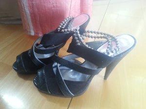 Schuhe von H&M, schwarz, Größe 40