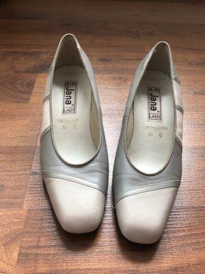 Schuhe von Jana Silber grau beige
