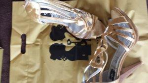 Schuhe von Jumelles in Gold. Gr.37 Neu!