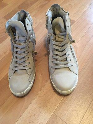 Kennel und Schmenger Lace-Up Sneaker cream leather