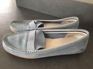 Schuhe von Lacoste - Leder, blau