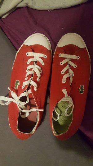 Schuhe von  Lacoste ( Rot)
