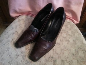 Schuhe von Marc O'Polo Größe 6 1/2, braun, Leder