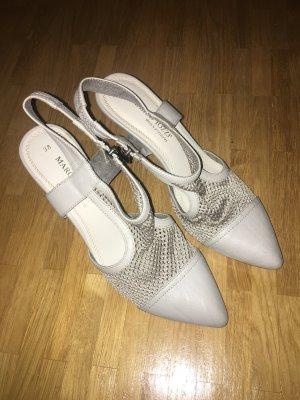 Schuhe von Marco Tozzi #absatz #absatzschuhe #grau #netz