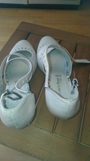 Schuhe von Marco Tozzi Größe 41 in creme zu verkaufen