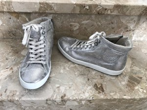 One of a kind Lace Shoes silver-colored