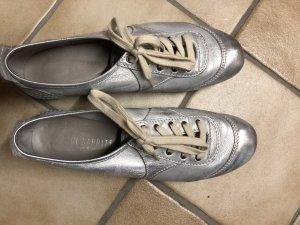 Paul Barritt Zapatos brogue color plata