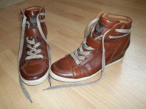 Paul Green Wedge Sneaker brown