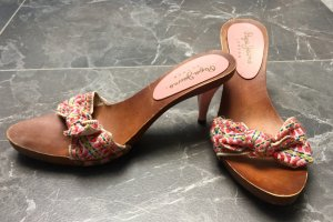 Pepe Jeans Heel Pantolettes multicolored