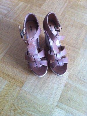 Pimkie Platform High-Heeled Sandal multicolored