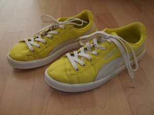 Schuhe von Puma in Gr. 38,5 gelb