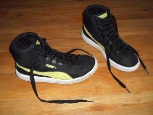 Schuhe von Puma in Gr. 38 schwarz gelb