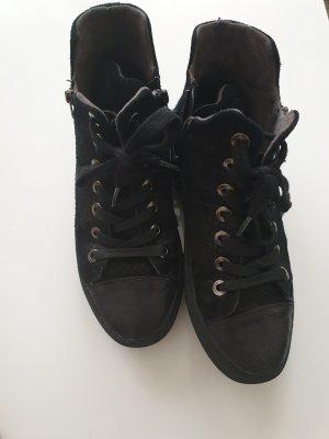 Replay Basket à lacet noir