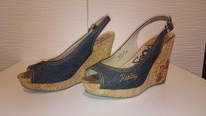Schuhe von Replay mit Keilabsatz, Gr. 38