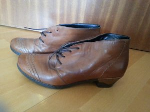 Schuhe von Rieker, braun, Größe 39, Leder, nur einmal getragen