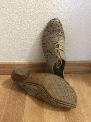 Schuhe von Rieker Stiefeletten Größe 39 echt Leder