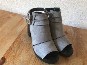 Topshop Slingback pumps zwart-grijs