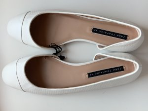 Zara Trafaluc Ballerinas with Toecap white
