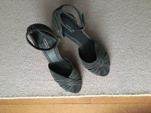 Schuhe Wildleder dunkelblau von Comptoir de Cottonier