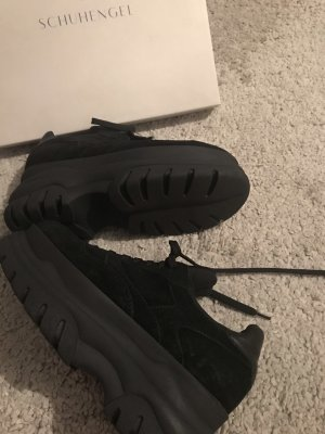 Frauenschuh High top sneaker zwart