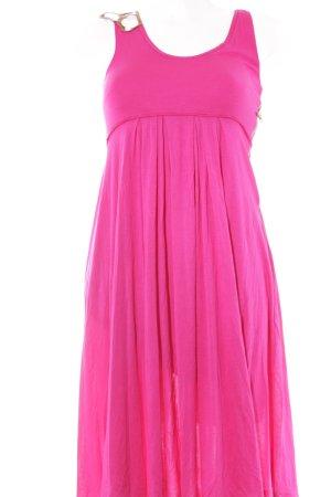 Schuhmacher A-Linien Kleid magenta extravaganter Stil