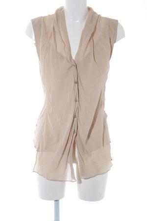 Schuhmacher ärmellose Bluse beige Elegant