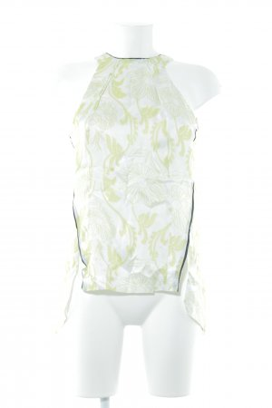 Schuhmacher ärmellose Bluse florales Muster Elegant