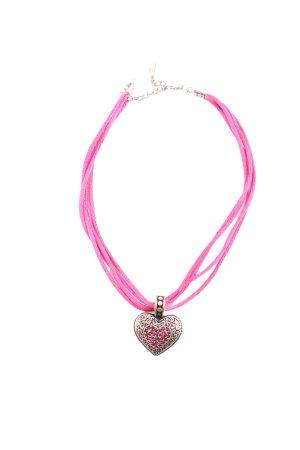 Schuhmacher Halskette pink-goldfarben Casual-Look