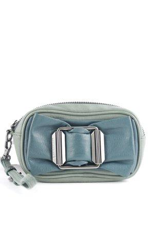 Schuhmacher Handtasche graublau-petrol Casual-Look