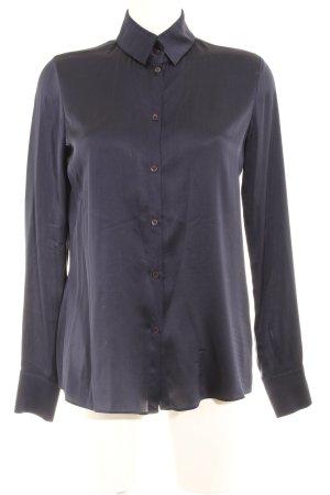 Schuhmacher Hemd-Bluse dunkelblau Casual-Look