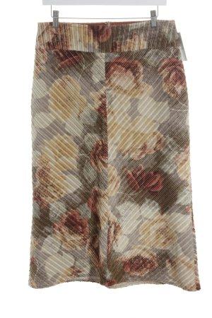 Schuhmacher Midirock florales Muster Vintage-Look