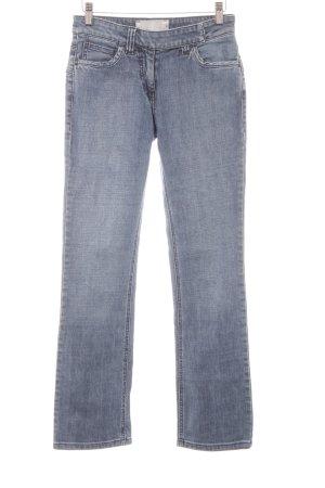 Schuhmacher Slim Jeans kornblumenblau Casual-Look